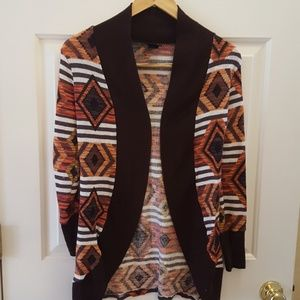 Rue 21 Long Brown Sweater